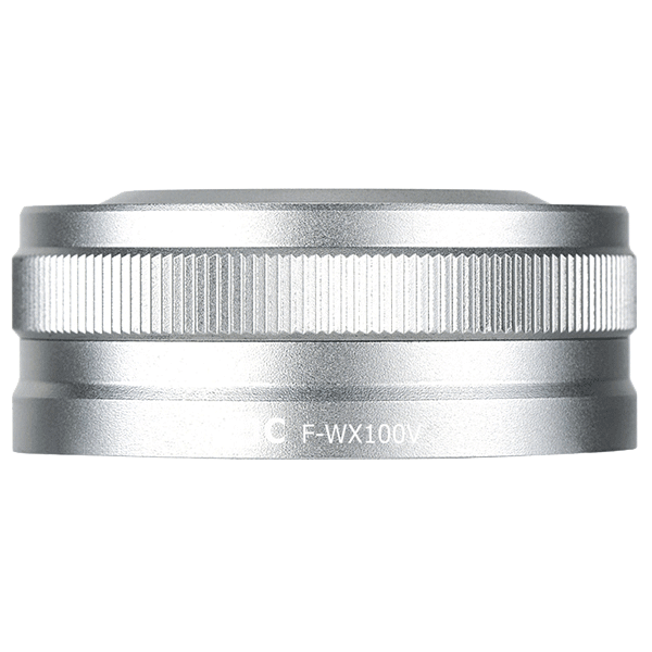 F_WX100V_Filter__Lens_Hood_Kit_For_Fujifilm_X100V_in_silver_seitlich_a.png