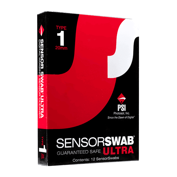 Photographic Solutions Type 1 Sensor Swab Ultra 12-Pack, 20mm