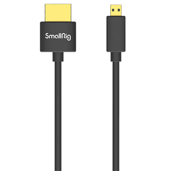 SmallRig Ultra Slim 4K HDMI Cable D to A 55cm 3043