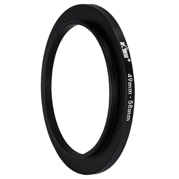 Kiwifotos Step-Up Ring 49-58mm