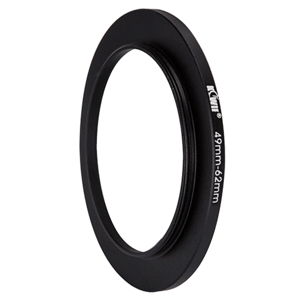 Kiwifotos Step-Up Ring 49-62mm