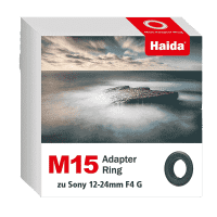 Haida M15 Adapter Ring zu Sony 12-24mm F4 G Objektiv